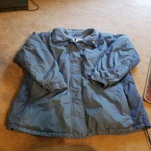 Womens Columbia blue coat size 3x